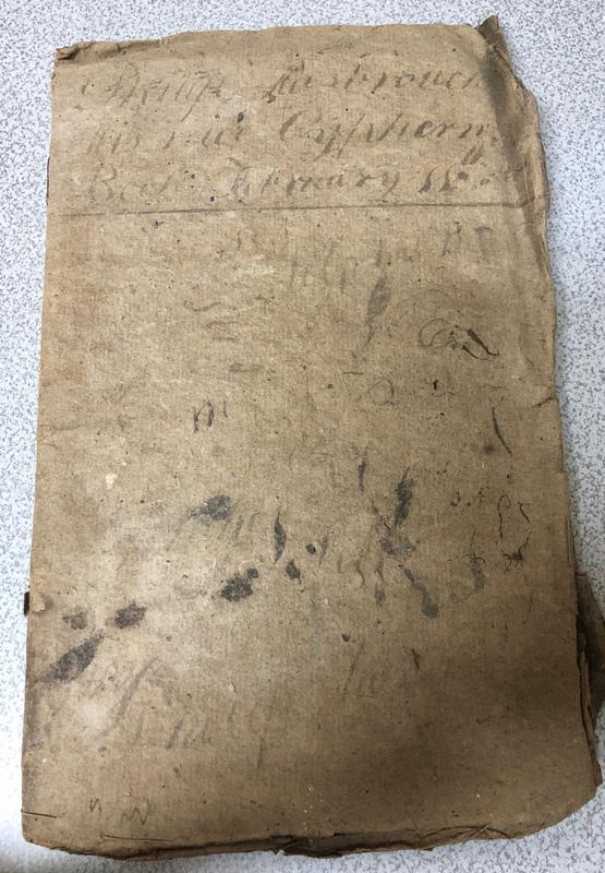 Hasbrouck Cipher book 1