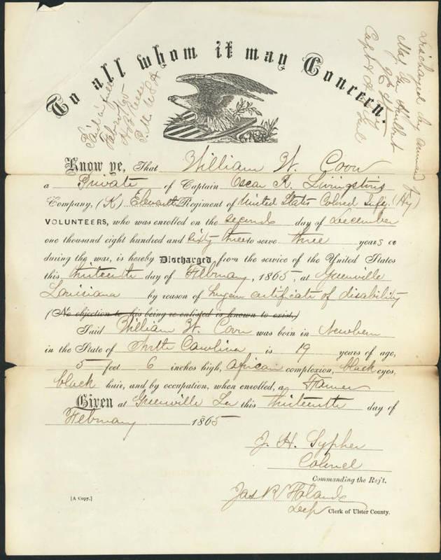 William Coon discharge paper.jpg