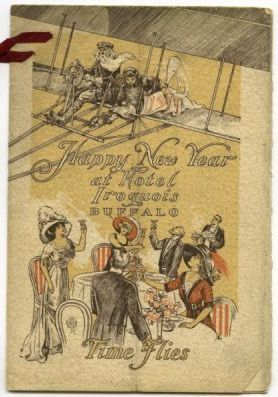 Happy New Year at Hotel Iroquois