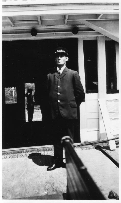 Captain Warrington, 1917.