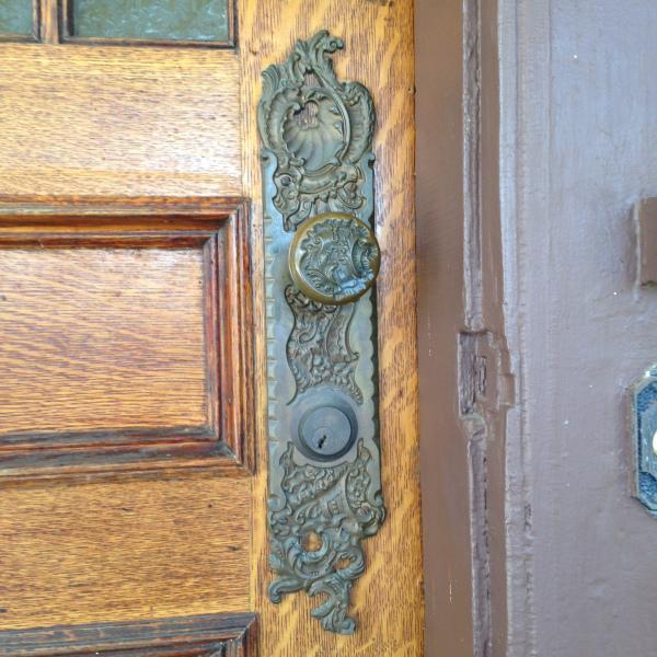 bronze door 3