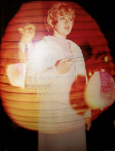 Lantern Nite yearbook page
