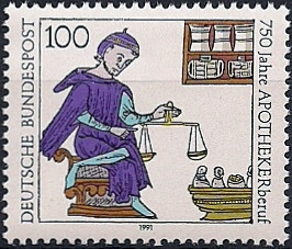 Apothecary Stamp