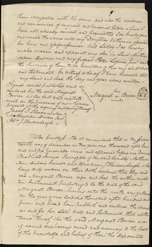 Will of Margaret Bevier of 1806_3.jpg