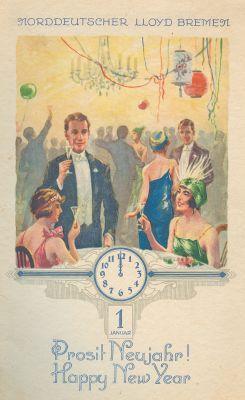 Norddeutscher Lloyd Bremen, Happy New Year