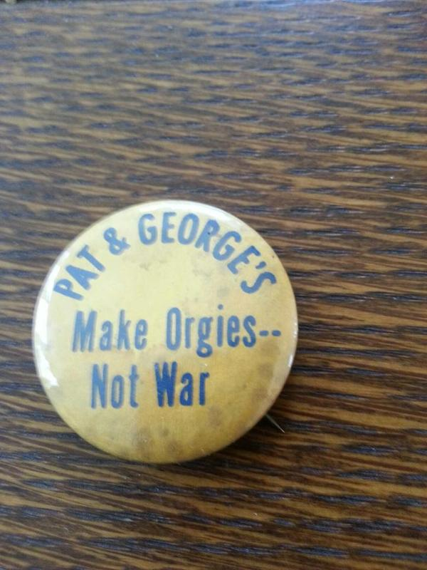 Pat & George's Button