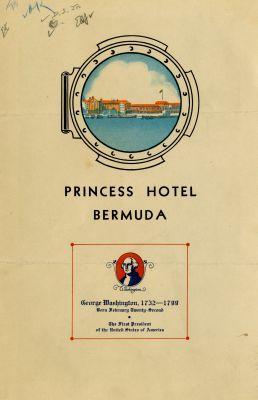 Princess Hotel, Washington's Birthday (1936)