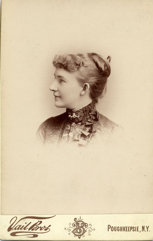 Photograph, Adelaide Underhill, side profile