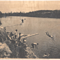 1901902- -At the swimmng rocks-almost the entire camp.jpg
