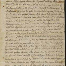 Will of Cornelius DuBois, 1803