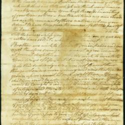 Aupaumut letter page 1