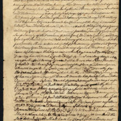 Will of Isaac Lefevre, 1753