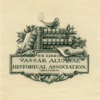 Vassar Alumnae Historical Association bookplate